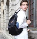 免運 WilliamPOLO 帆布後背包 後背包 大容量 防潑水 書包 電腦平板包
