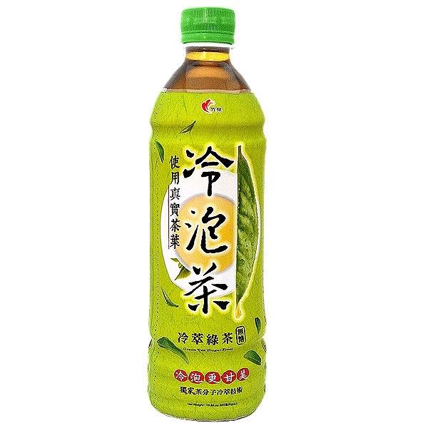 光泉 冷泡茶 冷萃綠茶 無糖 585ml (4入)/組