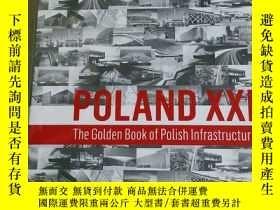 二手書博民逛書店the罕見golden book of polish infra