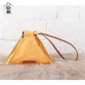 原創帆布粽子包三角手拿包個性創意小包零錢包手拎小包女生限時八九折