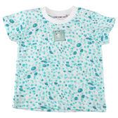 【愛的世界】純棉圓領豹紋短袖T恤/1~4歲-台灣製- ★春夏上著