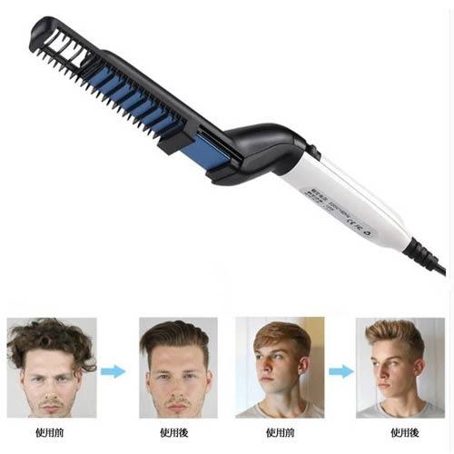 Quick hair styler多功能兩用神器男士直髮造型梳 梳子 電子梳 油頭 髮梳 背頭梳 直髮梳 髮型梳
