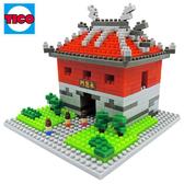 【Tico微型積木】台灣好遊趣-新北門:承恩門 T-7027