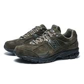 NEW BALANCE 慢跑鞋 NB 2002 墨綠黑 余文樂 麂皮 休閒 男 (布魯克林) ML2002RM