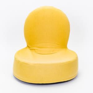 HOLA 仿麻漢堡和室椅 芥末黄