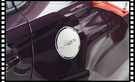 【車王小舖】豐田 Toyota 2014 VIOS 油箱蓋 油箱蓋貼 不銹鋼油箱飾蓋