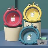 3個裝兒童可掛折疊卡通臉盆初新生嬰兒專用品家用【小檸檬3C數碼館】
