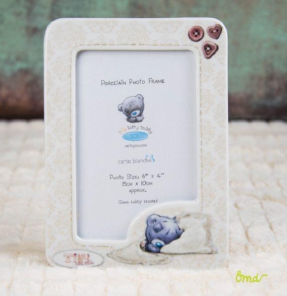 METOYOU 瓷器相框    全球知名可愛藍鼻子BLUE NOSE熊熊  英國品牌    ~ OHMYDOG! ~