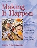 二手書《Making it Happen: Interaction in the Second Language Classroom : from Theory to Practice》 R2Y 020142018X