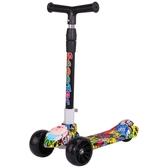 滑板車兒童3-6-12歲溜溜車滑行車童車三輪音樂男女孩寶寶玩具車 麥琪精品屋