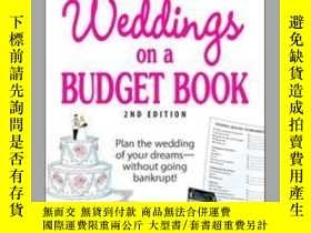 二手書博民逛書店The罕見Everything Weddings on a Budget BookY410016 Barbar
