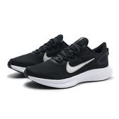 NIKE 慢跑鞋 RUNALLDAY 2 黑白 平價 情侶鞋 女 (布魯克林) CD0224-004