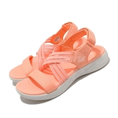 Skechers 涼拖鞋 On The Go 600 Outings 橘 白 女鞋 涼鞋 【ACS】 140153CRL