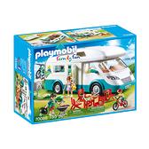 摩比積木 playmobil 露營車