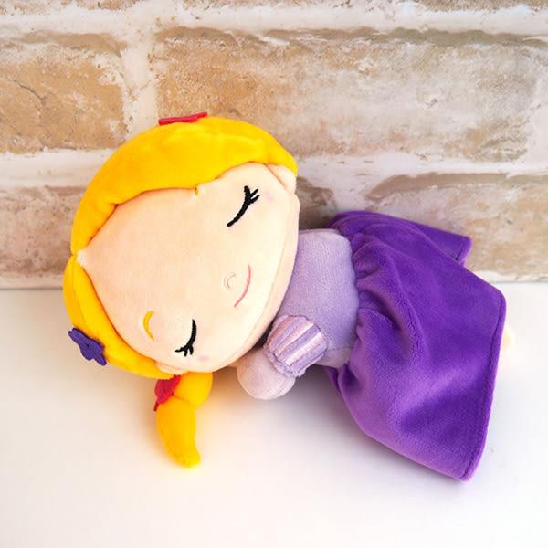 樂佩公主 睡覺抱枕娃娃 迪士尼 魔髮奇緣 S號 Disney 日本正版 該該貝比日本精品 ☆