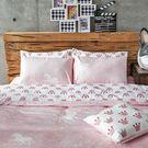 床包被套組 / 雙人特大【尋找夢奇地-兩色可選】含兩件枕套,100%精梳棉,奇妙童話,戀家小舖