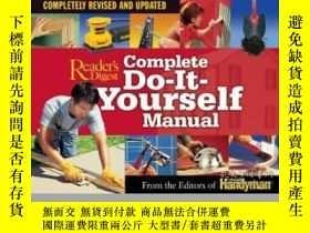 二手書博民逛書店Complete罕見Do-it-yourself ManualY255562 Family Handyman