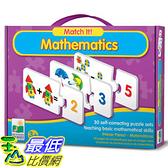 [美國直購] 2016美國暢銷兒童書 Mathematics The Learning Journey Match It!