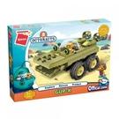 《 QMAN 》海底小縱隊系列積木-短吻鱷艇 / JOYBUS玩具百貨