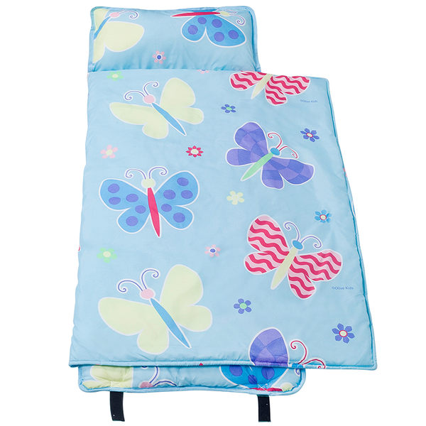 【LoveBBB】無毒幼教睡袋 符合美國標準 Wildkin 49692 蝴蝶花園(大) 安親班/兒童睡袋