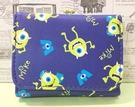 【震撼精品百貨】迪士尼 DISNEY 怪獸大學~桃紅短夾~大眼仔藍色#05284