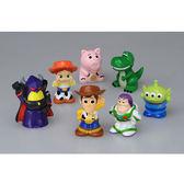 迪士尼系列 玩具總動員角色小公仔套組 一套七款 TOYeGO 玩具e哥