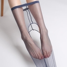 全透明開檔絲襪女薄款超薄連褲襪...