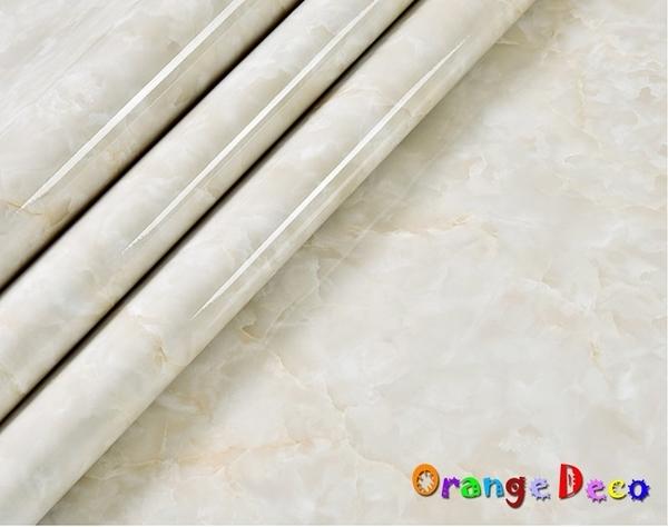 大理石自黏壁紙【橘果設計】61*500公分長 加厚防水桌面家具翻新牆貼壁貼室內設計 裝潢