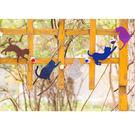 [韓風童品] 節慶掛飾 生日聚會裝飾旗 拍攝道具背景裝飾掛旗    貓咪彩球裝飾掛飾彩旗