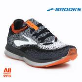 【BROOKS】男款避震型 慢跑鞋 BEDLAM -黑灰橘(831D005)-現貨/預購【全方位運動戶外館】