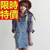 吊帶裙-氣質新款隨性單寧女短裙56i48[巴黎精品]