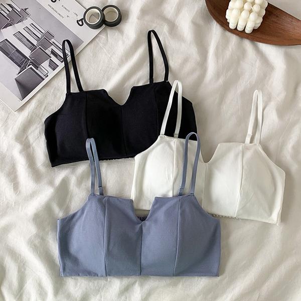 夏季新款韓版防走光性感美背內衣無鋼圈學生少女裹胸抹胸女潮