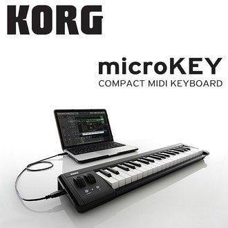 【非凡樂器】Korg Microkey 2/61鍵主控鍵盤/midi keyboard/打譜編曲最佳拍檔/公司貨保固