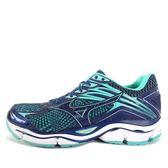 Mizuno Enigma 6 W [J1GD161116] 美津濃 運動鞋 女 走路 跑步 慢跑  深藍  水藍