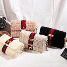 DIY手工製作包 珊瑚絨包包 材料包 珊瑚絨網格 單肩斜挎包 鏈條包 情人節禮物 生日禮物【RB573】