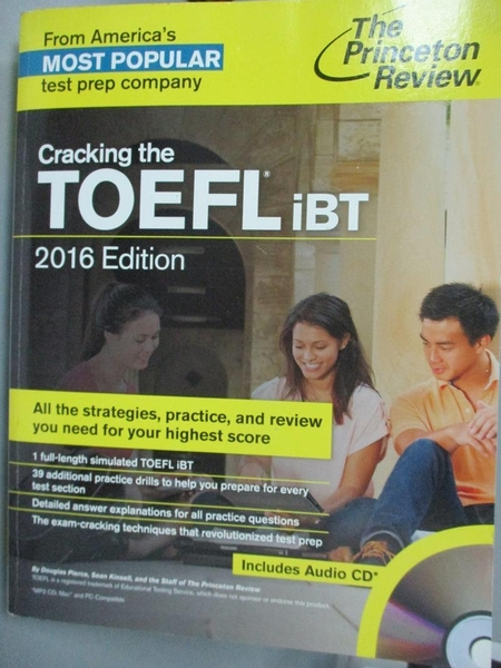 【書寶二手書T9/語言學習_ZBS】The Princeton Review Cracking the TOEFL iB