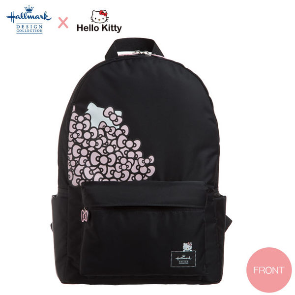 Hallmark-Kitty聯名款- 花園凱蒂後背包(HLKT0V002BK)