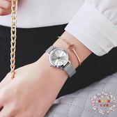 流行女錶女士手錶女款時尚潮流小巧鋼帶簡約女錶學生正韓防水石英錶 XW