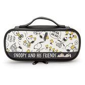 【史努比鉛筆袋】史努比雙層鉛筆盒鉛筆袋PU 皮革Snoopy   該該貝比  ☆