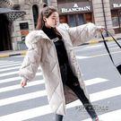 棉服女2018新款冬季外套女寬鬆棉衣學生面包服加厚中長款羽絨棉襖
