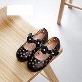 聖誕禮物女童包頭涼鞋透氣公主鞋寶寶小皮鞋夏季兒童鏤空單鞋 全館免運