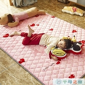 可機洗保暖加絨兒童爬行墊嬰兒爬爬墊家用秋冬地毯地墊折疊【千尋之旅】