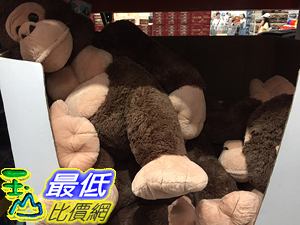 [COSCO代購] C118693 30 SITTING GORLA  POLAR BEAR ASSORTED坐姿絨毛金剛/北極熊