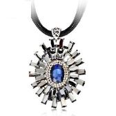 奧地利水晶項鍊-高貴獨特生日母親節禮物女毛衣鍊2色73fv72【時尚巴黎】