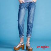 【第二件5折】天絲棉精繡Lace褲口男友褲 - BLUE WAY ET BOîTE 箱子