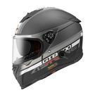 【東門城】ASTONE GTB800 AO10 (平黑銀) 全罩式安全帽 雙鏡片