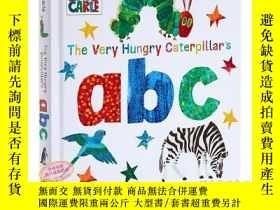 二手書博民逛書店艾瑞卡爾罕見好餓的毛毛蟲abc 英文原版 The Very Hungry Caterpillar s abc 紙板