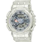 【台南 時代鐘錶 CASIO】卡西歐 G-SHOCK 宏崑公司貨 GA-110CR-7A 海洋生態保育概念雙顯錶款