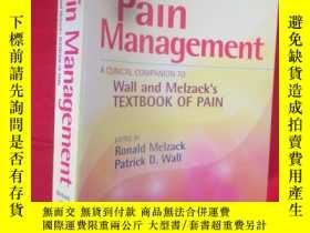 二手書博民逛書店Handbook罕見of Pain Management: A