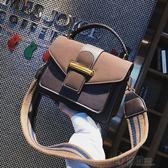 包包女新款潮韓版百搭斜背包chic港風手提包時尚磨砂小方包 沸點奇跡